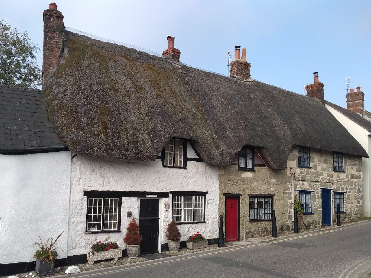 Thatched Cottages in Shaftesbury